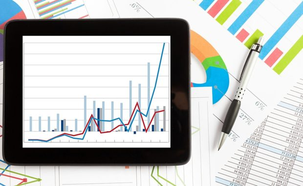 a large amount of data graphs and charts that all contribute to transparent SEO reporting