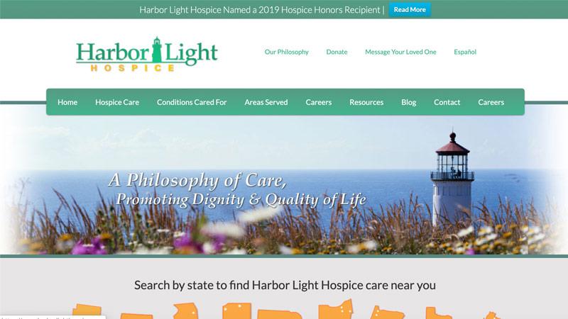 Harbor Light Hospice Desktop Screenshot