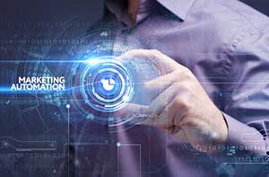 Concept of marketing automation in the digital marketing world