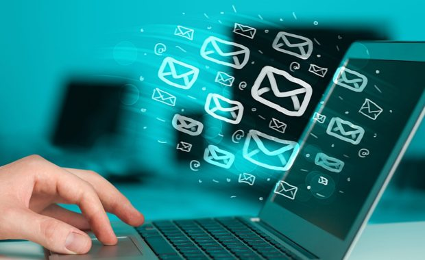 emails being sent to the client base of an insurance agency which is a very useful tool for marketing automation