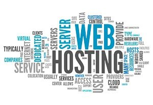 an amalgamation of website hosting related words; factors that likely influence down time