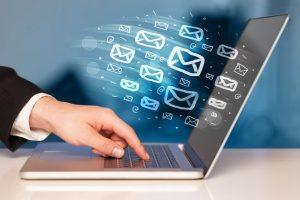 digital marketing agency posting social media statuses for a small business