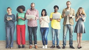 online community congregating as a result of effective brand engagement