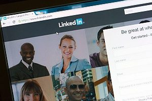 LinkedIn company pages created by an insurance marketing agency that is working with an entertainment insurance firm based in California
