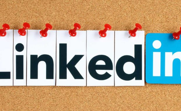 a picture of the Linkedin logo that can be implemented with any good law firm social media marketing strategy