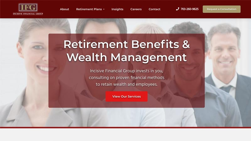 Incisive Financial Group Desktop Screenshot