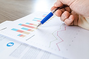 insurance marketing services results shown through data graphs