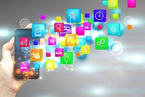 large number of icons for social media platforms where content marketing can be beneficial to any big or small company