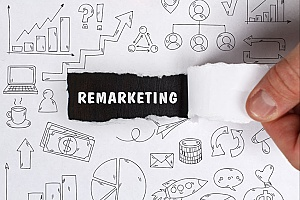 concept art for remarketing that displays ad retargeting which is essential for any insurance marketing campaign