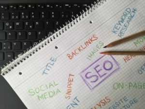Digital marketing seo sketch