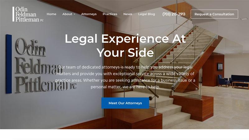 OFP Law Desktop Screenshot