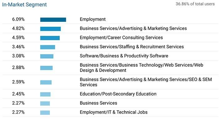 target audience for 321 in Google Analytics.jpg