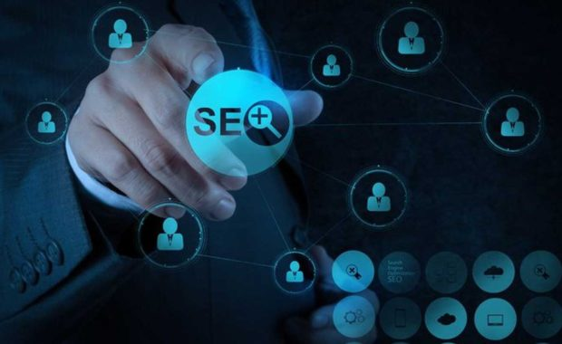 a diagram representing SEO for insurance agents