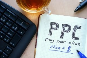 pay per click advertising which is sometimes not as effective as organic SEO