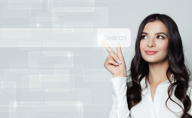 woman-seeing-top-5-benefits-of-seo-services-for-small-businesses