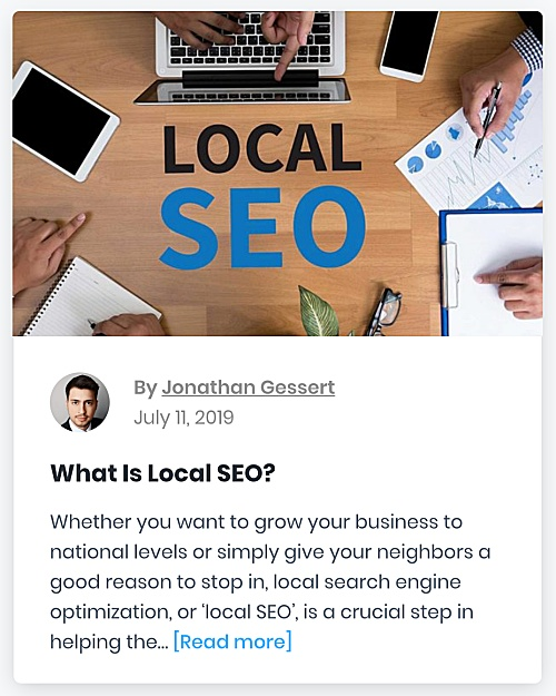 "321 Web Marketing Washington, DC SEO blog - ""What Is Local SEO?"" - thumbnail"