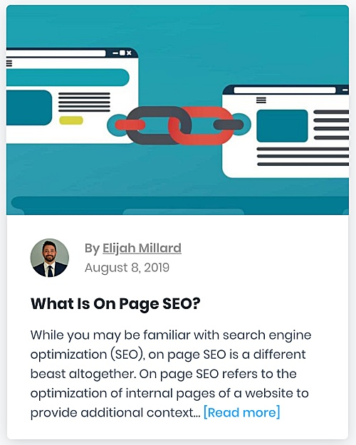 "321 Web Marketing Washington, DC SEO blog - ""What Is On Page SEO?"" - thumbnail"