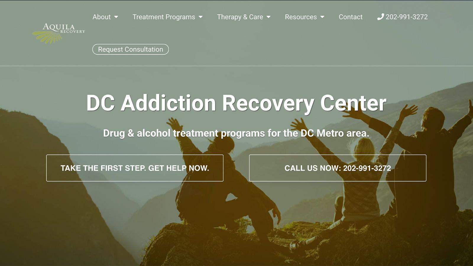 aquila home web page
