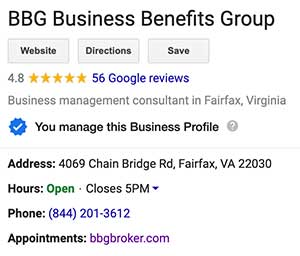BBG Google My Business