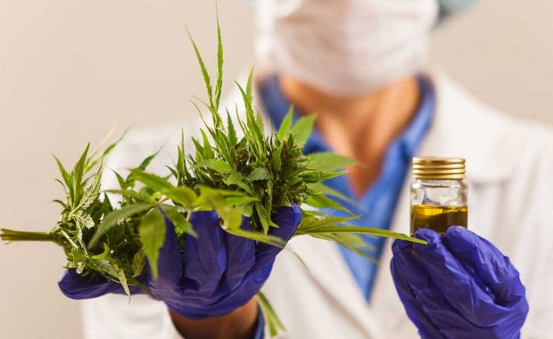 Dispensary worker who engages in cannabis marketing