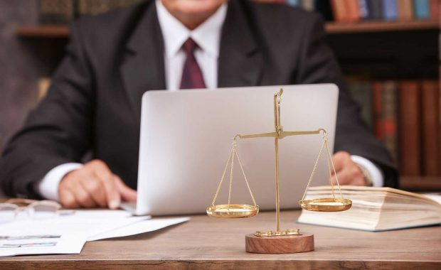 Man seeing the benefits of organic SEO for attorneys