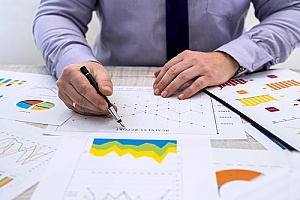 market researched being performed by an attorney while formulating a law firm marketing plan