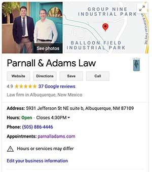 Google My Business For Personal Injury Attorneys