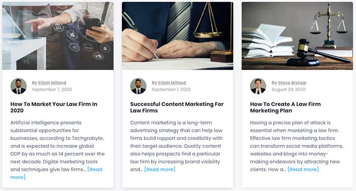 Law Firm Marketing Blogs