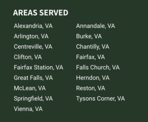 areas we serve on footer