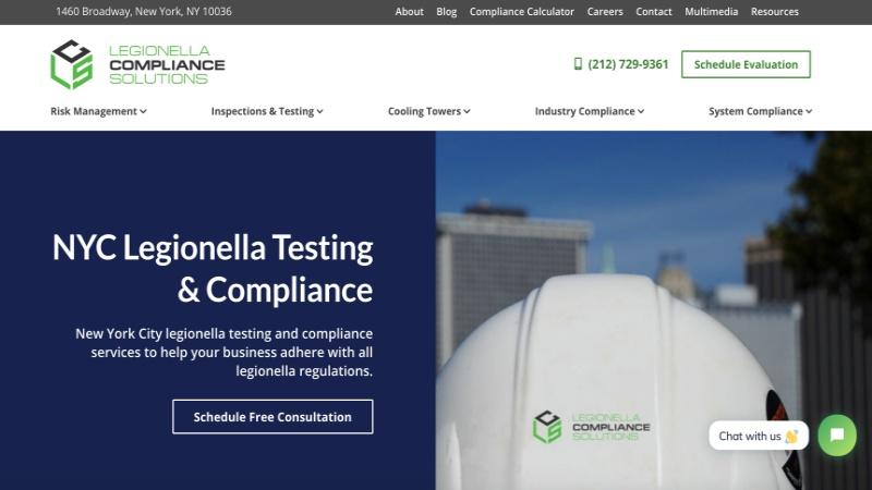 legionella website