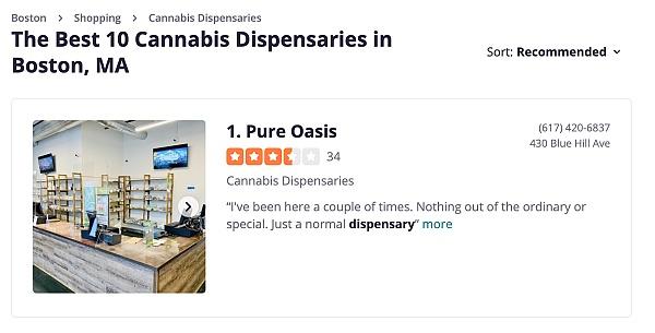 best dispensaries in boston