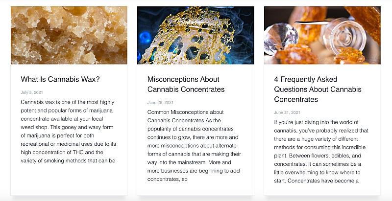 Cannabis blogs