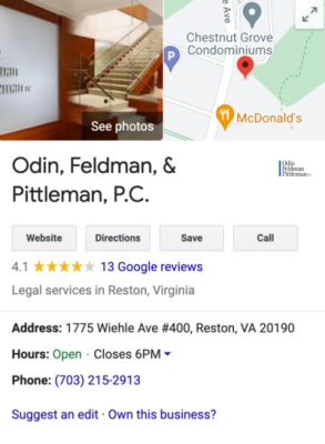 ofp google my business